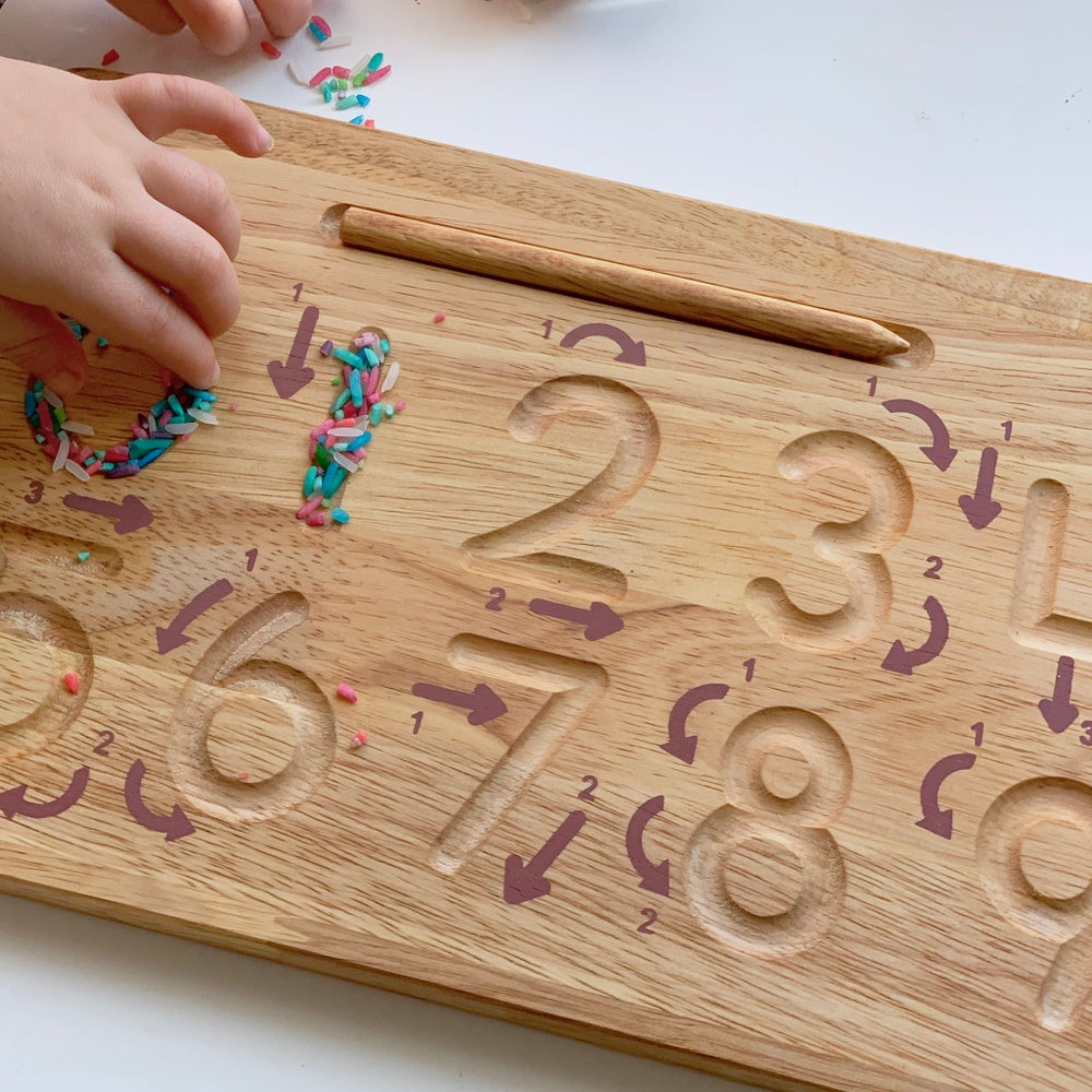 Image of Number Tracing Board