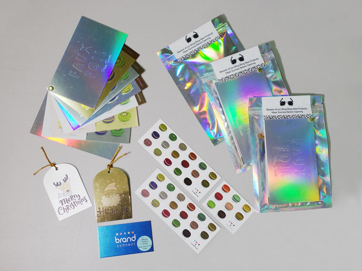 Image of Faux Foil Sample Pack