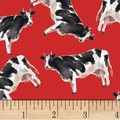 Image of Silo Cows Red 30cm Shade