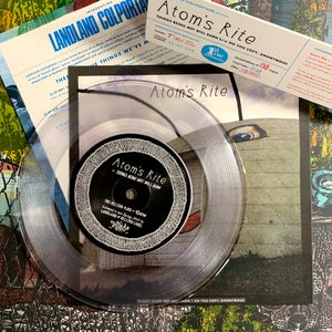 "Image of Atom's Rite ""Things Being Met... b/w Do You Copy, Anonymous"" 7"" EP • Ltd. Edition Vinyl Record"