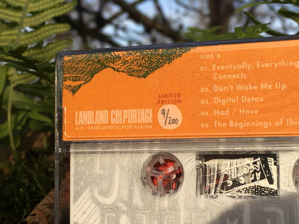 "The Pauses ""Unbuilding"" Full-Length Cassette Tape"
