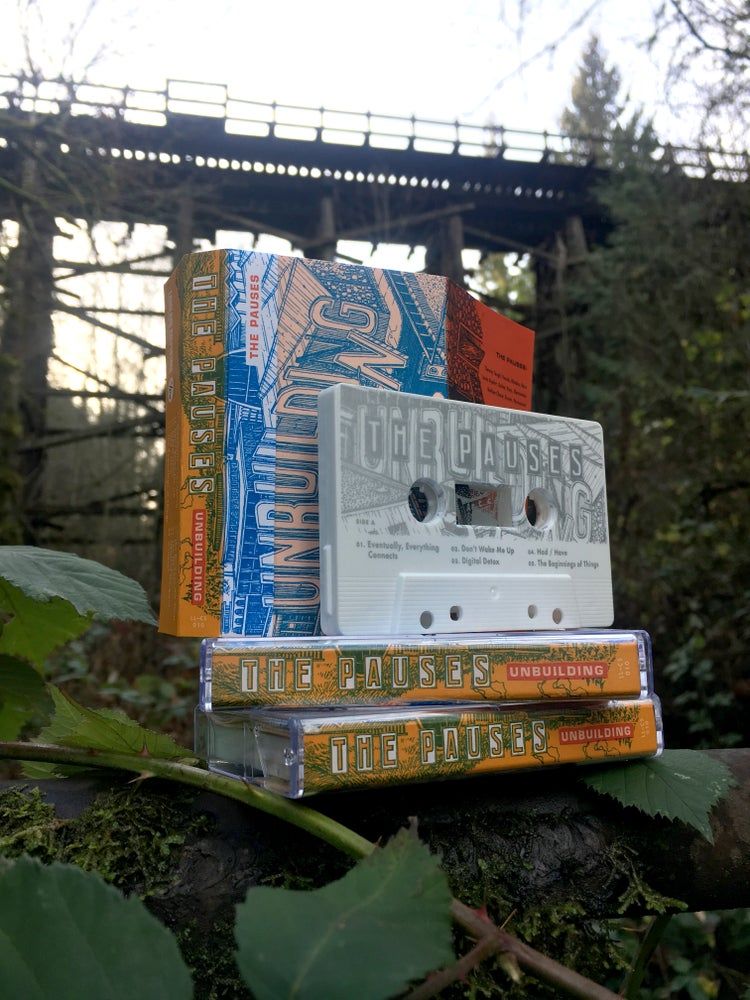 "Image of The Pauses ""Unbuilding"" Full-Length Cassette Tape"