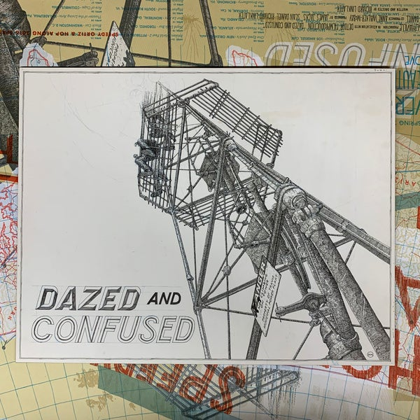 "Image of Original Clayboard Drawing: ""Untitled (Dazed & Confused)"" (Dan)"