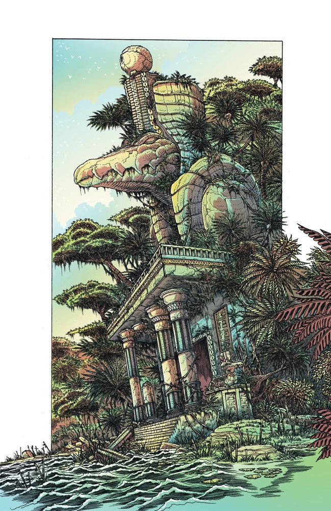 Image of Sobek by James Stokoe