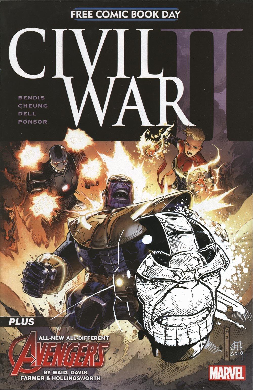Image of CIVIL WAR II - FCBD - Thanos Remarque
