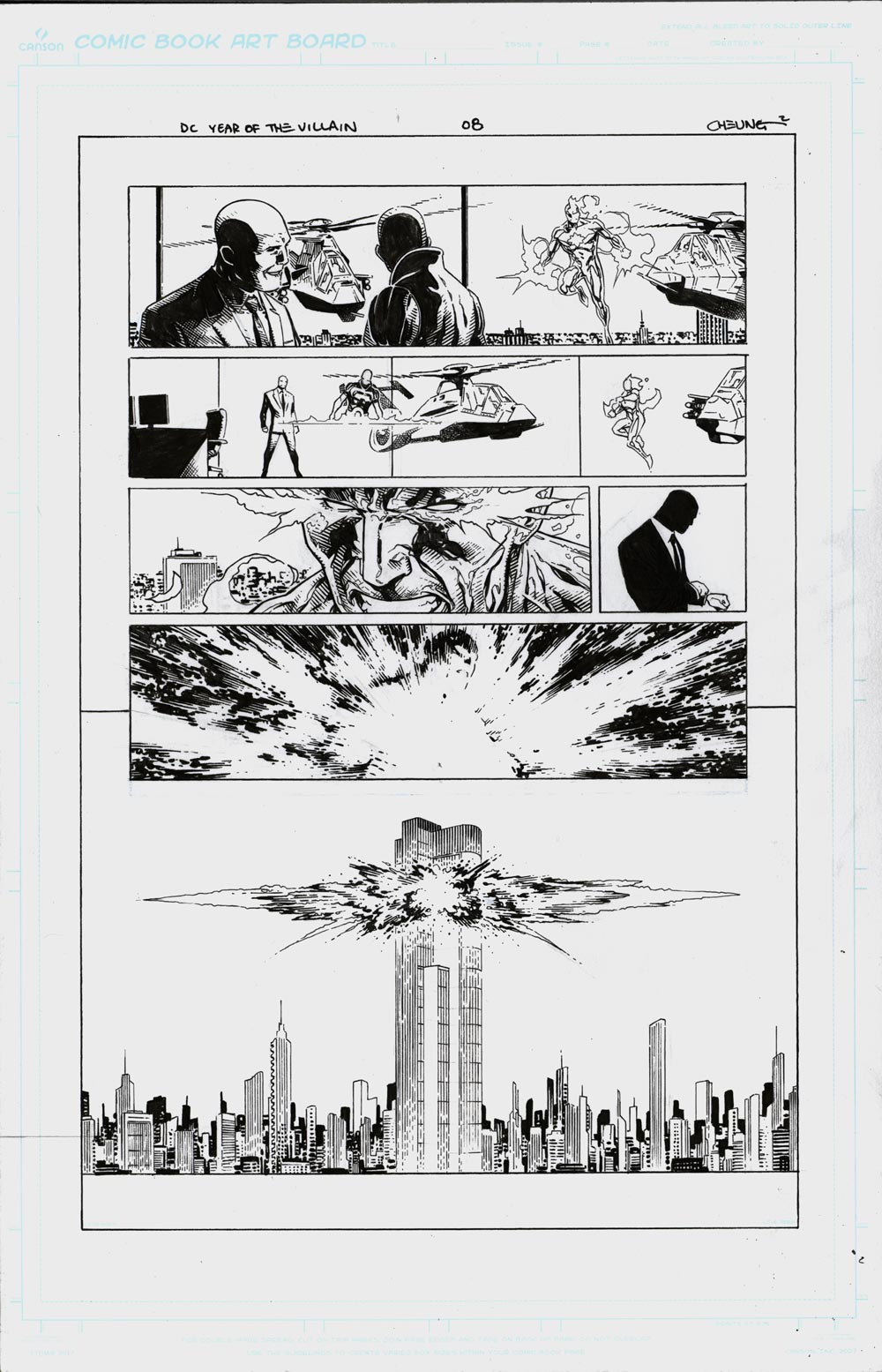 Image of YEAR OF THE VILLAIN #1 - Page 08