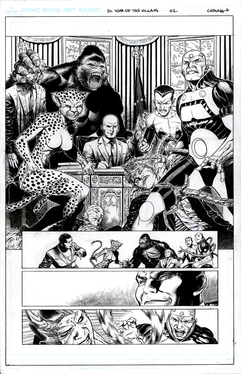 Image of YEAR OF THE VILLAIN #1 - Page 02