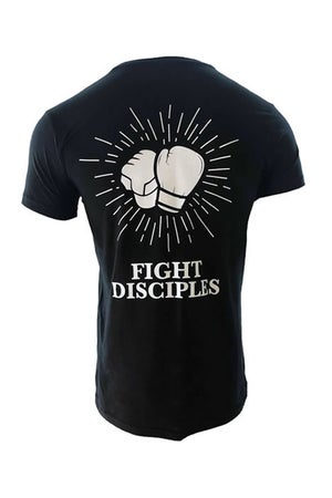 Image of OFFICIAL FIGHT DISCIPLES 'CLASSIC LOGO' MENS BLACK T-SHIRT