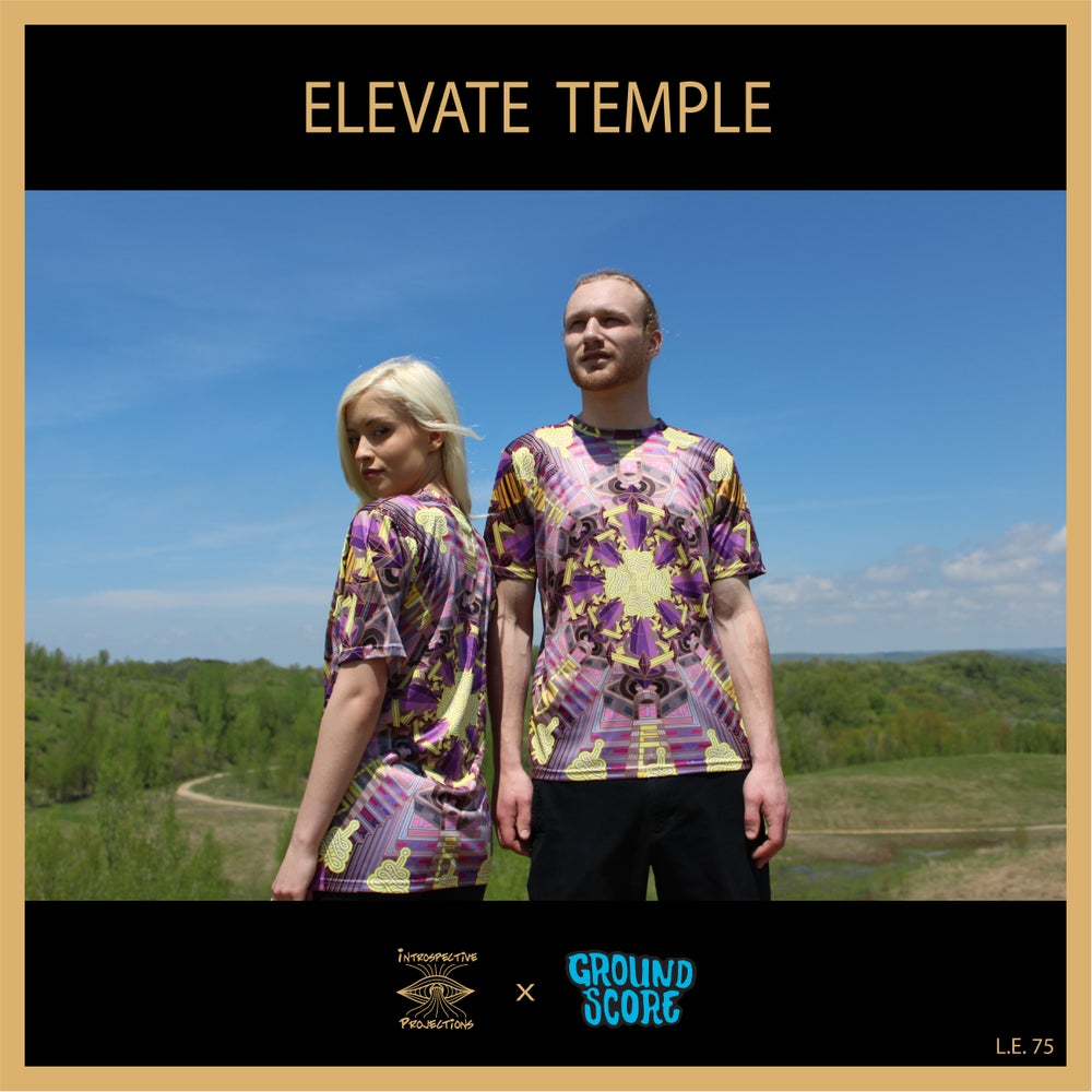 Image of Introspective Projections - Elevate Temple T-Shirts (LE 75)