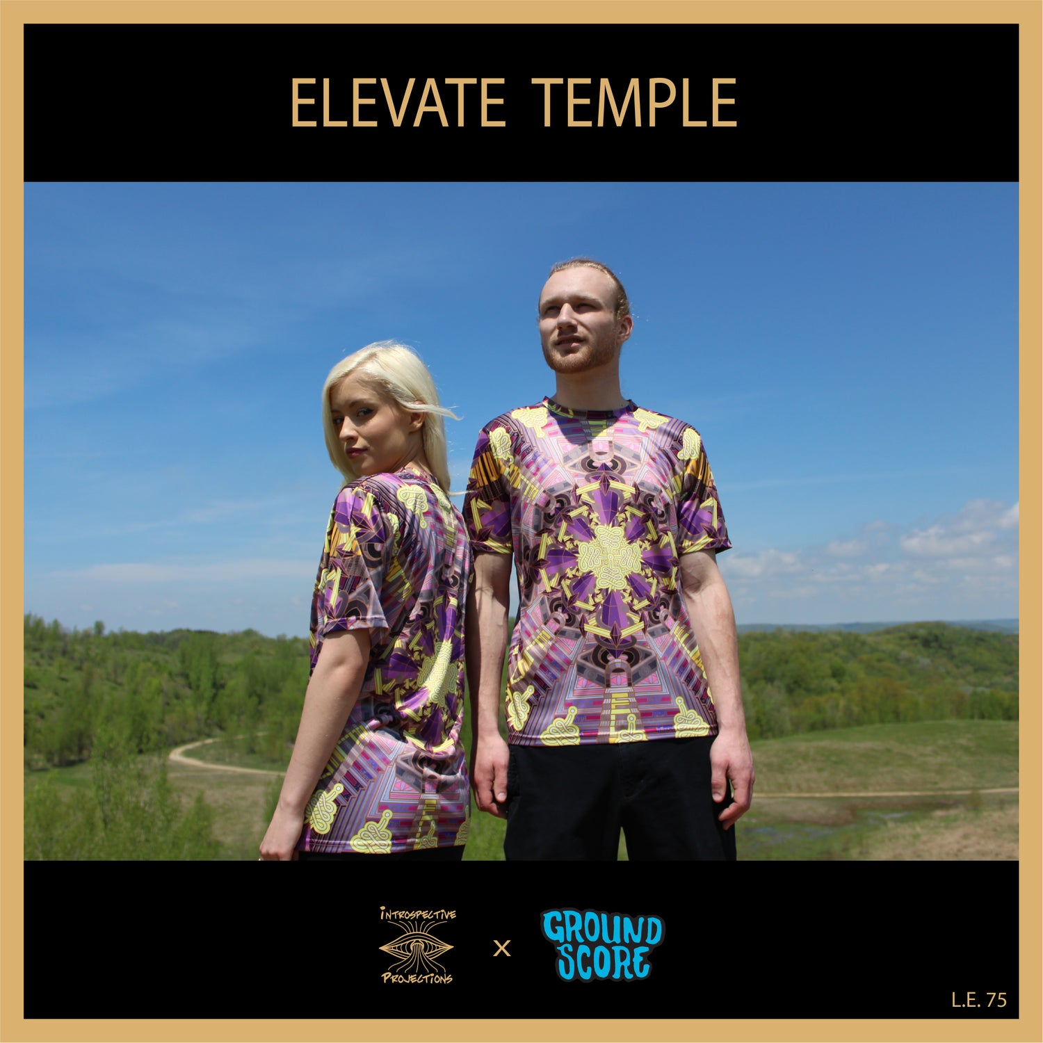 Introspective Projections - Elevate Temple T-Shirts (LE 75)