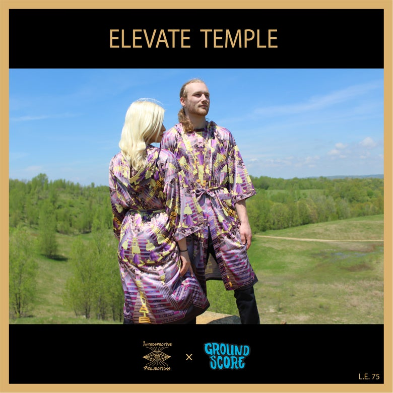 Image of Introspective Projections - Elevate Temple Kimono (LE 75)