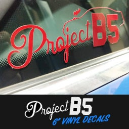 "Image of PROJECTB5 - 6"" Vinyl Decals"