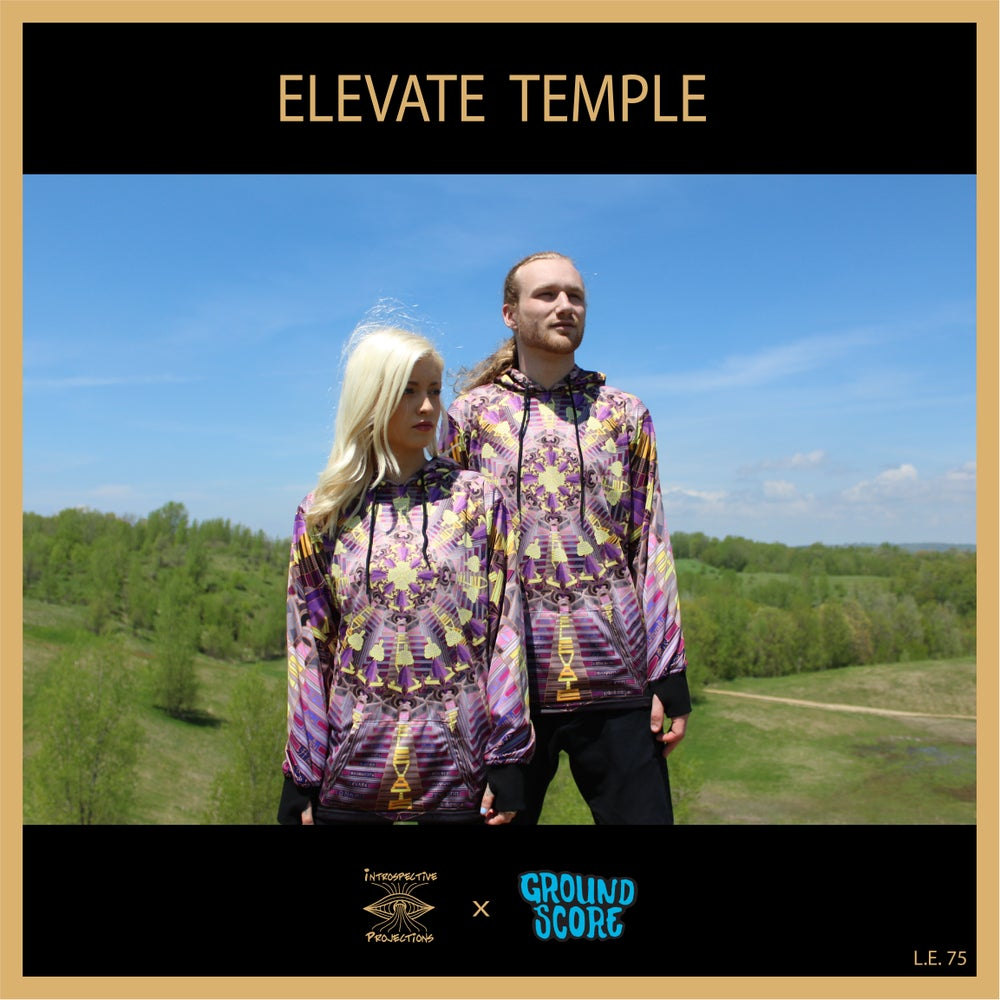 Image of Introspective Projections - Elevate Temple Hoodies (LE 75)