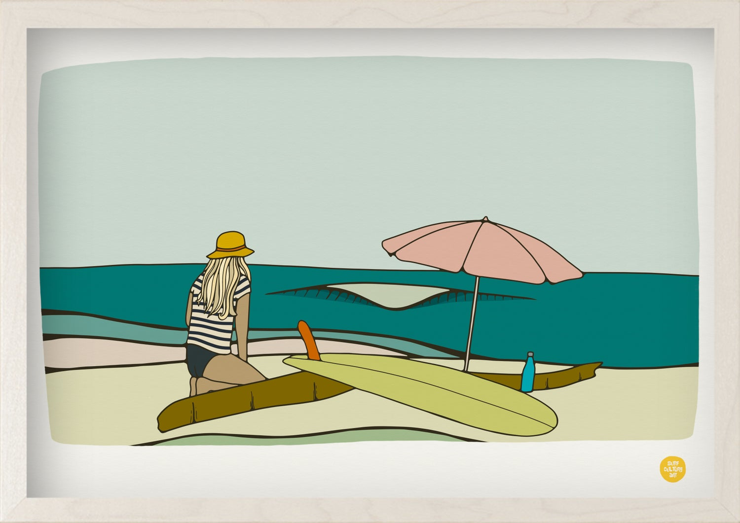 Image of LIMITED EDITION ART - 'BEACHDAYS'