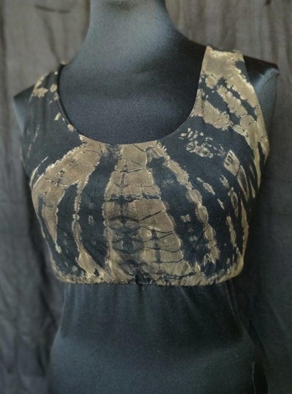 Image of Tie-Dye Crossback Bra