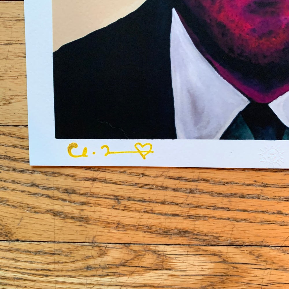 "Image of ""Head Trauma"" Two 8.5"" x 11"" Giclee Fine Art Print Set Open Edition"