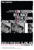 Image of Sound For Any Warhol's Kiss Kim Gordon Poster