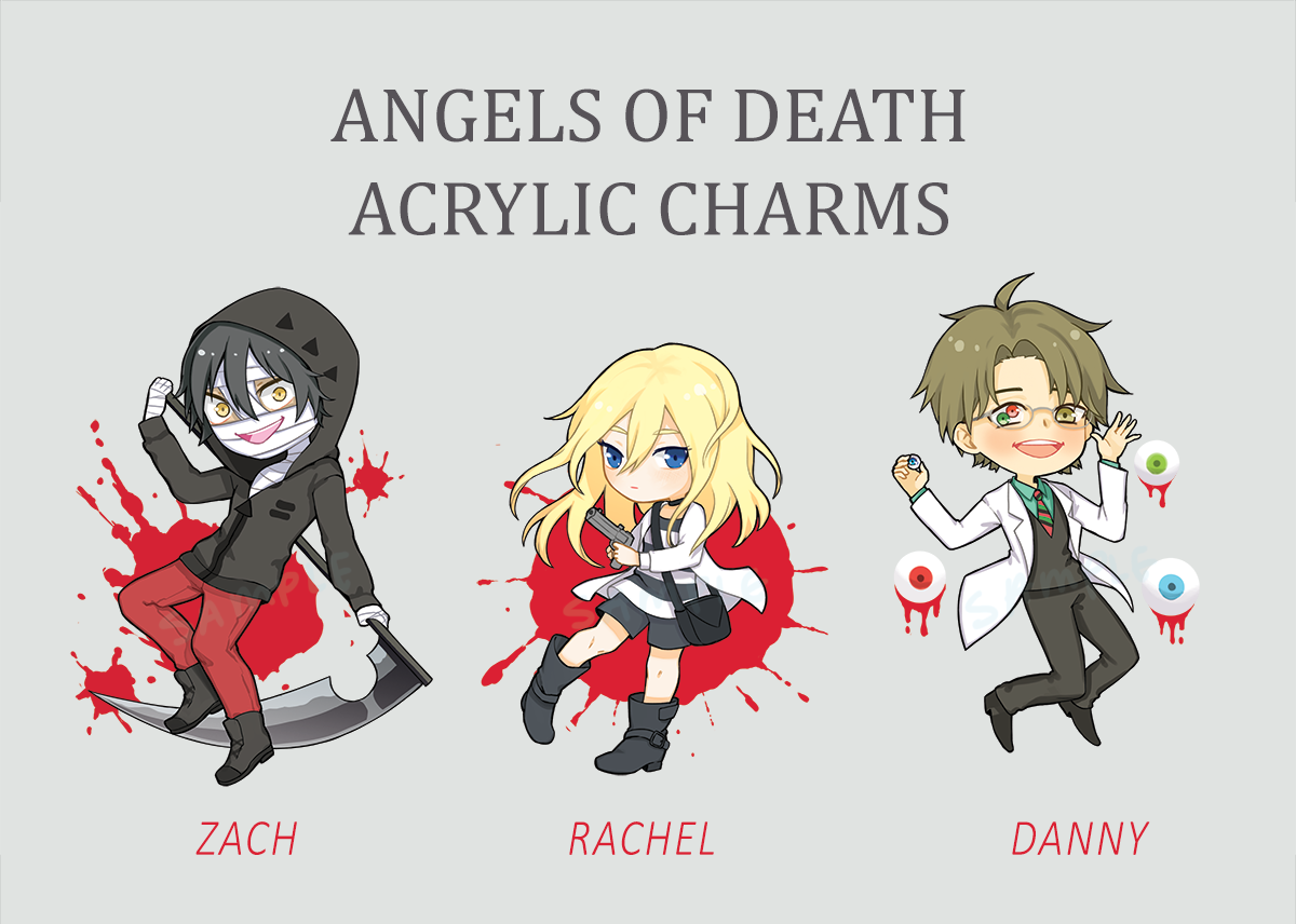 Image of Angels of Death Acrylic Charms