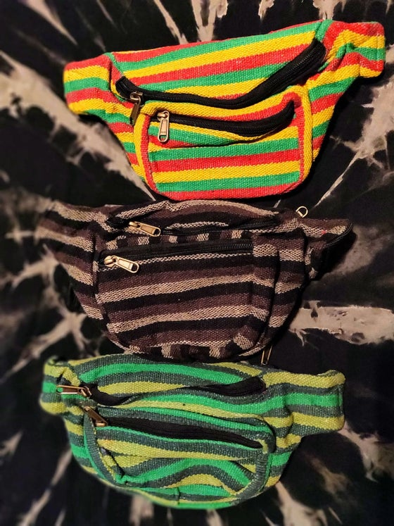 Image of Stripey Boi Fanny Pack Belt