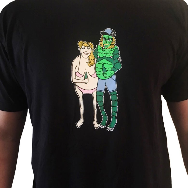 Image of Trashy Creature from the Trailer Park Men's T-shirt by Bloodbath Products