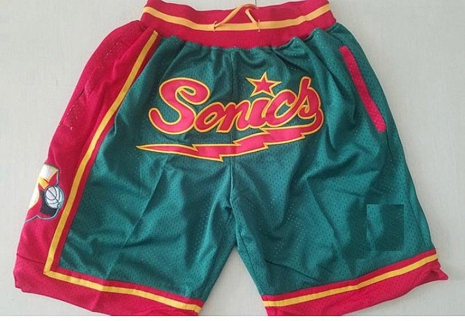 Image of Seattle  super Sonics shorts