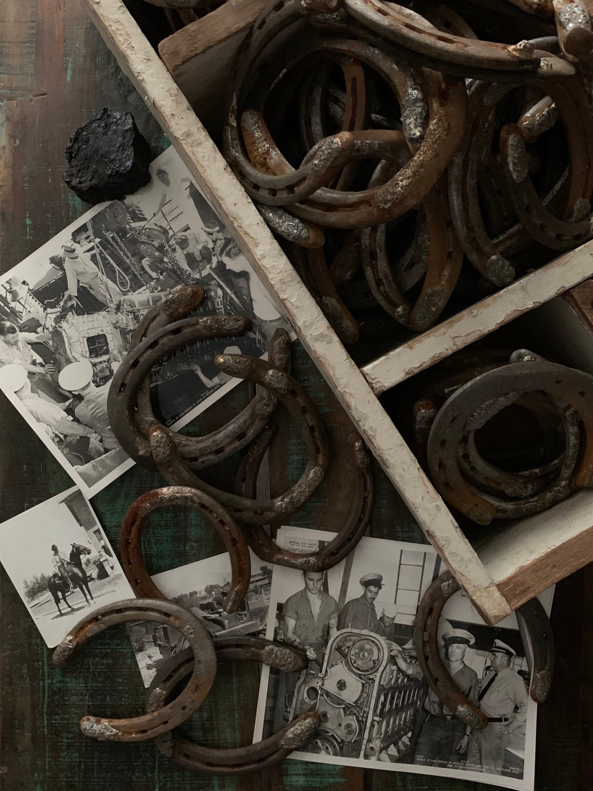 Image of MAKE YOUR OWN LUCK HORSESHOES