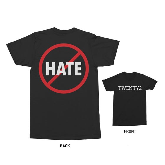 Image of TWENTY2 WON'T HATE T-SHIRT
