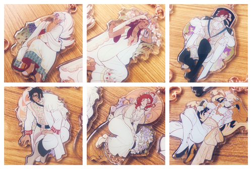 Image of The Arcana - Spring Wedding Charms (LIMITED EDITION)