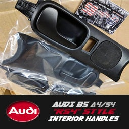 "Image of PROJECTB5 - B5 Audi S4/A4 ""RS4"" Interior Door Pull Handles"