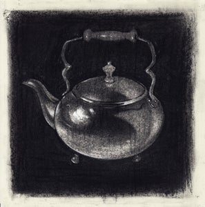 Image of Kettle - Drawing *Framed*
