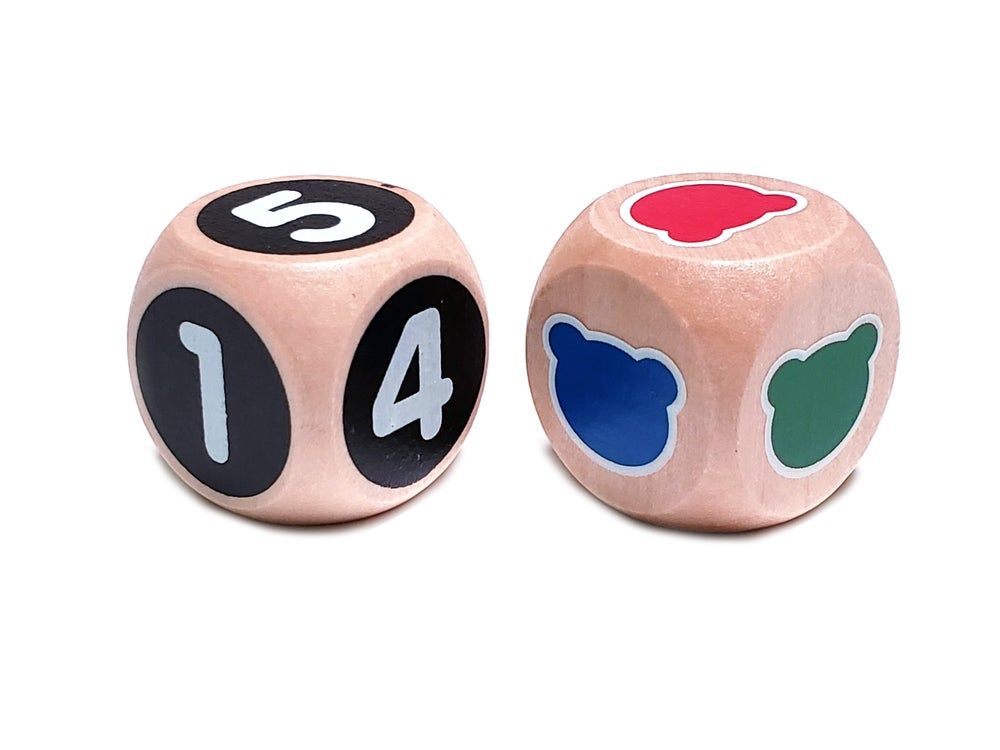 Image of Color Dice & Number Dice