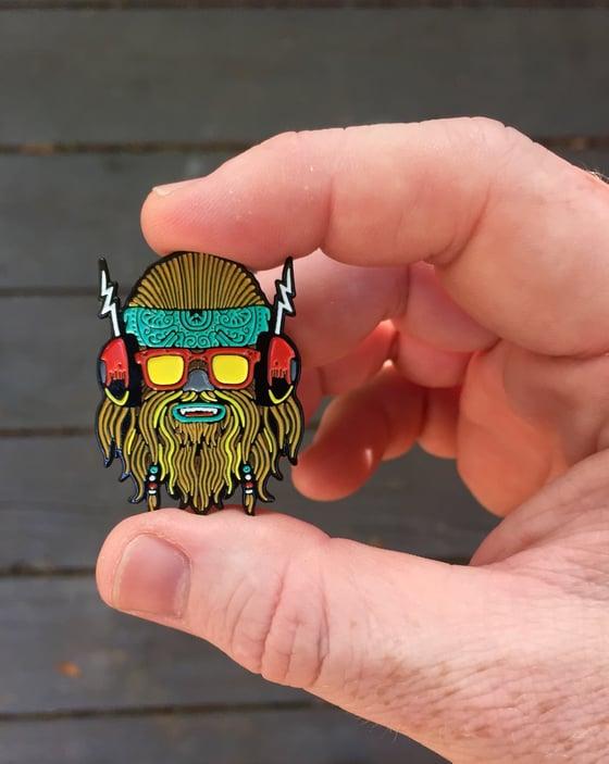 """Image of """"Wook"""" enamel pin"""