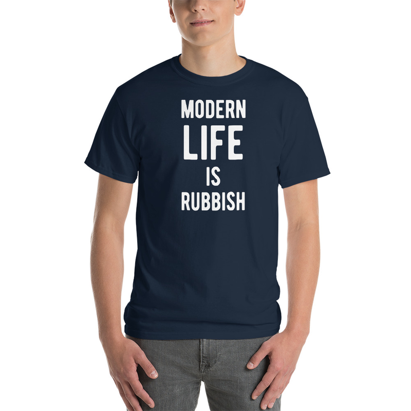 Image of Modern Life is Rubbish Type t-shirt