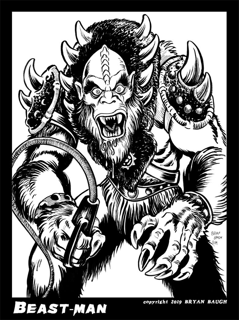 Image of BEAST-MAN from Masters of the Universe