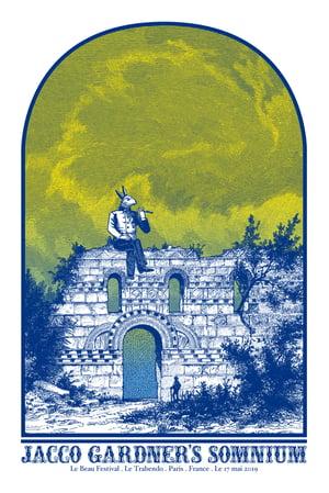 JACCO GARDNER'S SOMNIUM gigposter - Le Beau Festival - Le Trabendo Paris May 2019