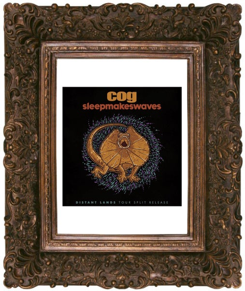 "Image of COG // sleepmakeswaves European Tour Split 7"" Vinyl"