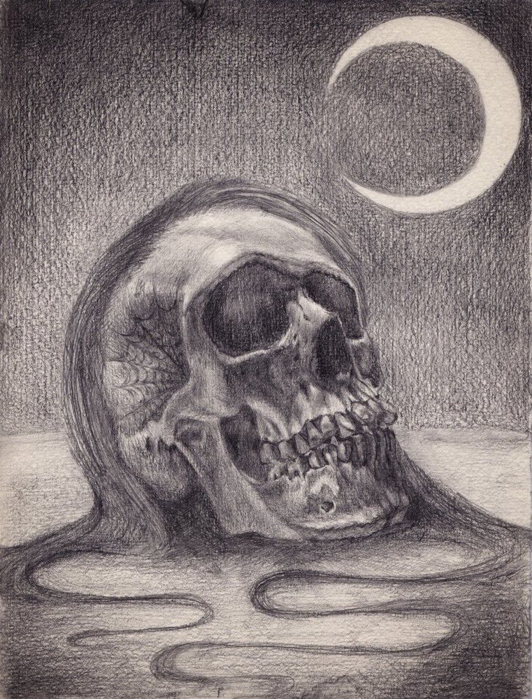 Image of Goodnight Moon original graphite drawing