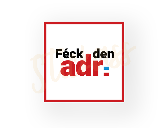 "Image of ""Féck den ADR"" Stickers"