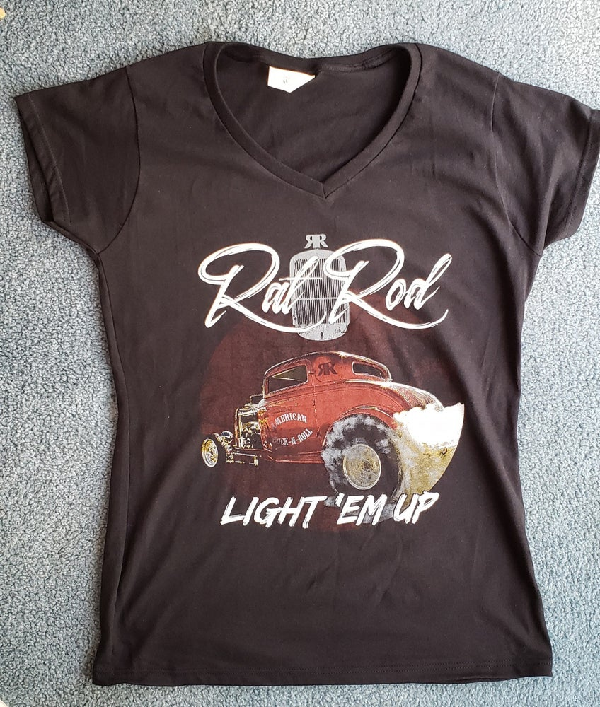 Image of Ladies T-shirt get a free CD with your purchase