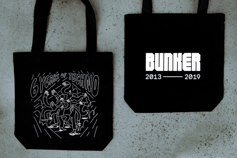 Image of Bunker 6th Birthday Tote Bag