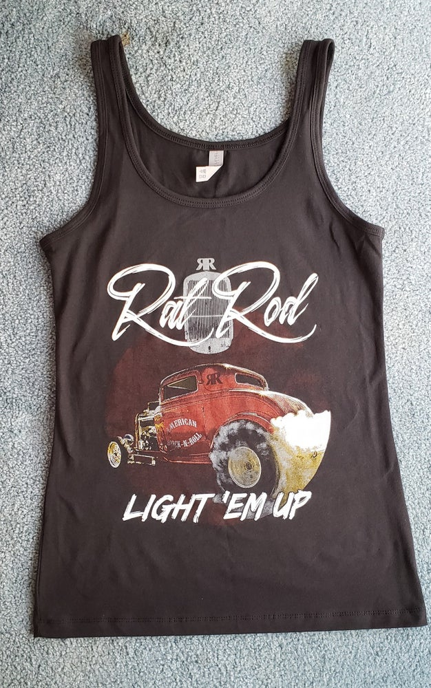 Image of Ladies Light Em up Tank Top get a free CD with your purchase!