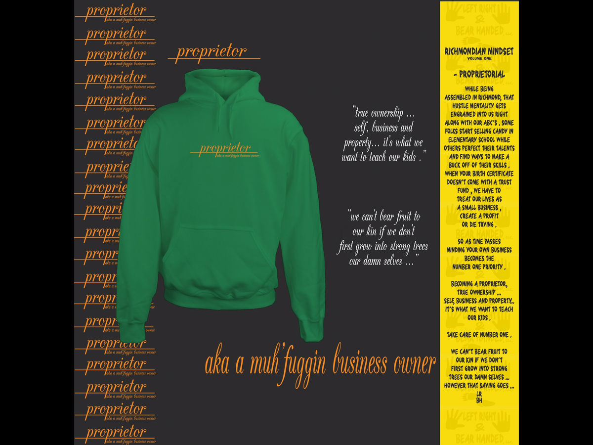 Image of Proprietorial Views Hoodie