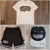 "Image of T-Shirt / Mesh Short / Cap ""Spurs"""