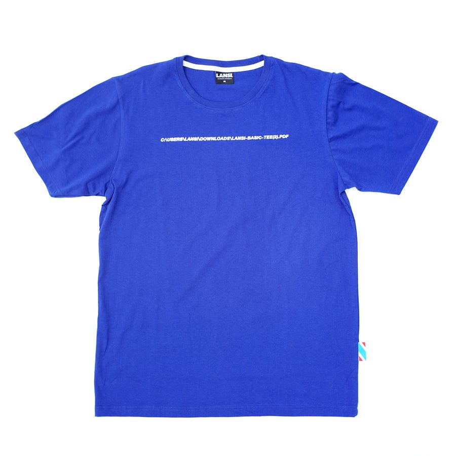 "Image of LANSI ""Filename"" T-shirt"