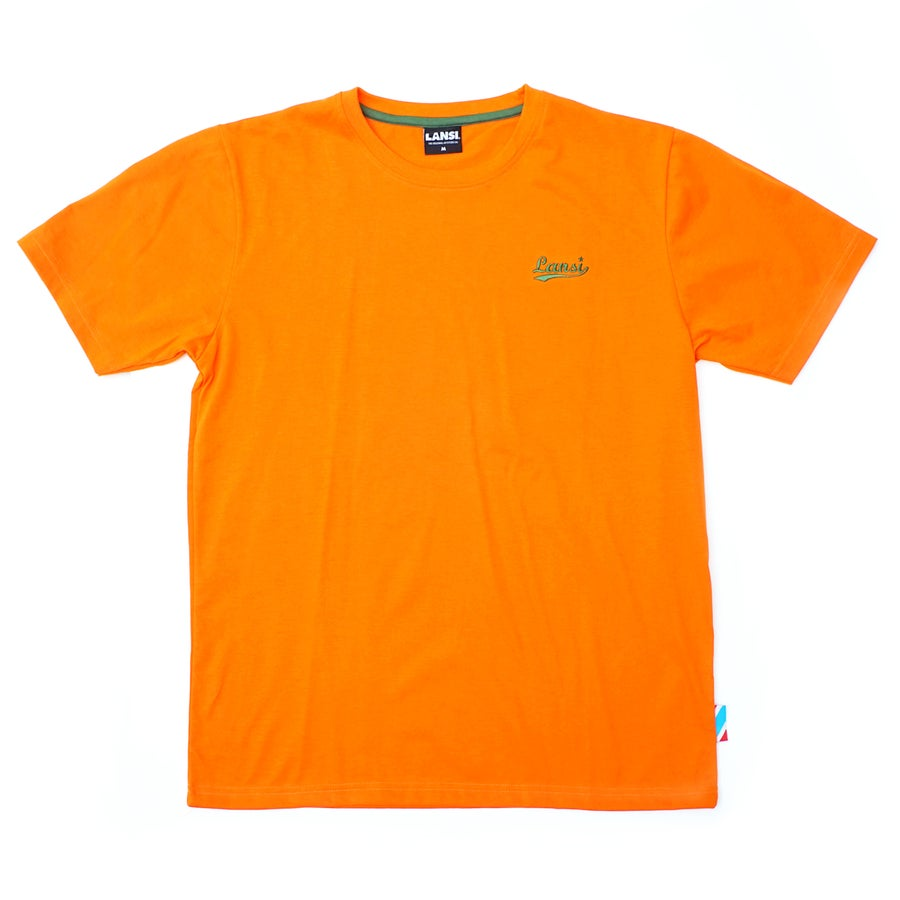 "Image of LANSI Stitched Tee — ""Grapefruit"""