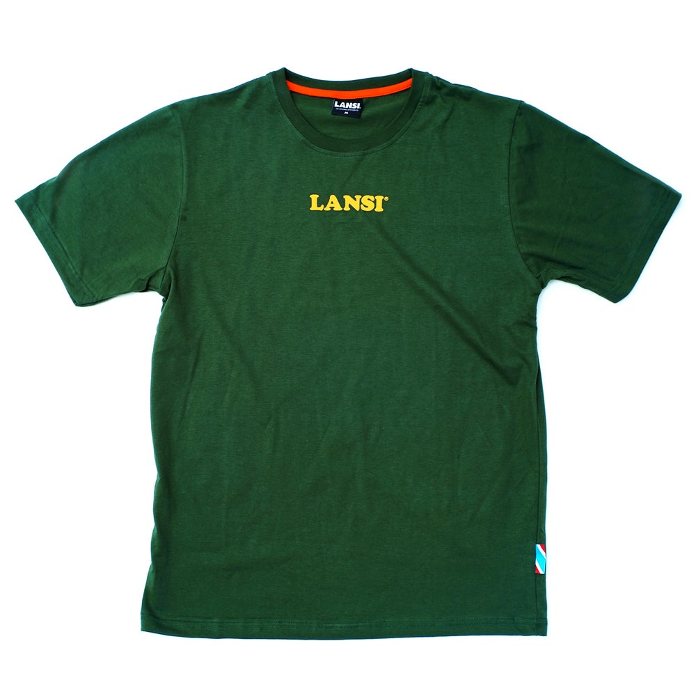 Image of LANSI Alias T-shirt (Forest/Yellow)