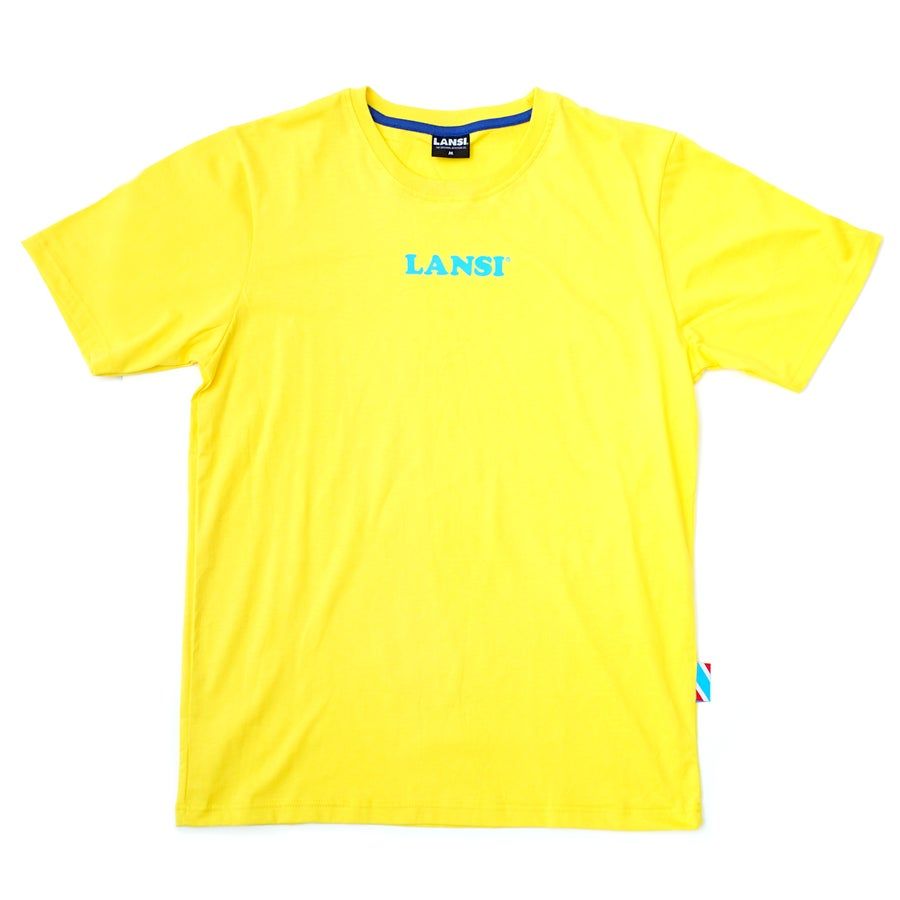 Image of LANSI Alias T-shirt (Yellow/Cyan)