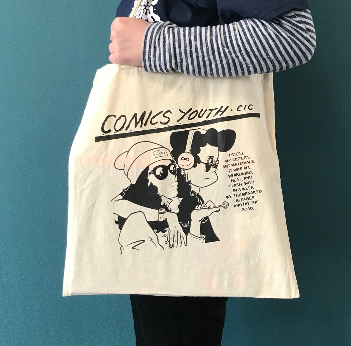 Image of Comics Youth Tote Bag