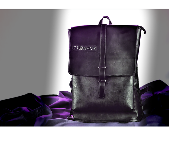 Image of CRWNHVY Leather Travel Bag
