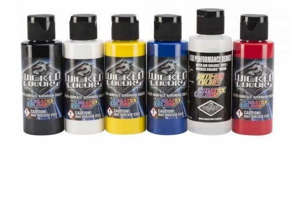 Image of Createx Wicked Airbrush Colors